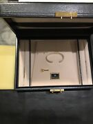 Rolex Jumbo Vintage Antique Style Watch Display Box And Jewelry Tray Authentic