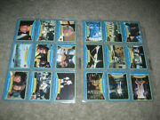1979 Topps Moonraker Moore 007 James Bond 99 Trading Cards And 22 Stickers Set