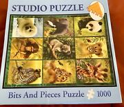 Studio Bits And Pieces 1000 Piece Jigsaw Puzzle Animals