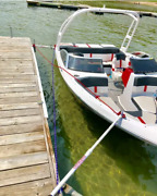 Crisscross Poles For Boat Mooring / Docking Replaces Dock Pier Bumpers Or Whips