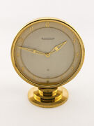 Attractive Jaeger-lecoultre Tabe Clock With 8 Days Made In The 40and039s
