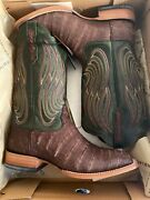 Mens Ariat Boots Sz 10 Nitro Caiman Belly Brand New