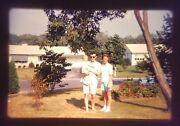 Vintage Photo Slide Kodachrome 1960s Family Father Young Mother Son