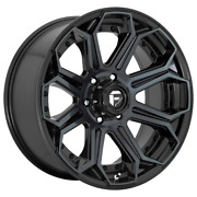 For 4-fuel Siege Gloss Machined Double Dark Tint 20x10 Rim Dodge Ram Gm 8x6.5-18