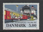Denmark Sc1077 End Of Railway Mail Service 1997 Mint Nh F-vf