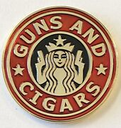 New York Police Department Nypd Guns And Cigars Gotham Starbucks Challenge Coin