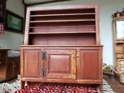 Dollhouse Miniature Artisan David White Country Welsh Cupboard Signed 112