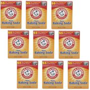 9 Arm And Hammer Pure Baking Soda Absorbs Smells And Odors Each 1 Lb Exp 03/2022