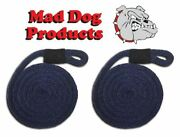 Mad Dog Navy Blue Fender Line - 5/8 X 8and039 - Sold In Pairs - Made In The Usa