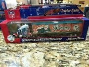 Miami Dolphins Football Limited Edition Tractor Trailer By Fleer 1/80 Sc..b202