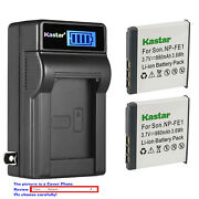Kastar Battery Lcd Wall Charger For Sony Np-fe1 Npfe1 And Sony Cyber-shot Dsc-t7