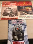 Vintage Train Magazines Lionel O, Standard Scale, Toy Trains, Williams