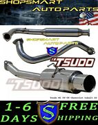 Tsudo 05-08 06 07 Chevy Cobalt Ss Stainless Catback Exhaust 2.0l / 2.4l