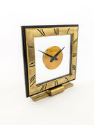 Super Rare Jaeger-lecoultre 8-day Table Desk Clock From Teh 1950and039s
