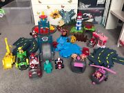 Paw Patrol Track Set Bundle. Lookout Tower Lighthouse And Pet Rescue Plus Extras