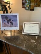 2 Ltd Edition Painting Prints Mallards/geese Signed/numbered Coa/registration