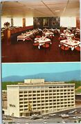 Postcard Hotel Holiday Inn Downtown Chattanooga Tennessee Exterior And Dining Vw