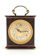Jaeger-lecoultre Table Desk Clock 8 Days Movement Striking Function 1960and039s