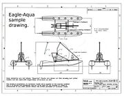 Eagle-aqua Weight-shift Aircraft Chassis Plans Experimental Or Ultralight