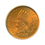 1907 Indian Head 1c • Ms65 Red List550