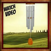 Woodstock Amazing Grace Large Wind Chimes - Voted No. 2 Best Wind Chime 40 Inch