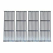 Bbq Grill Broil King Grate 4 Pc Gloss Cast Iron 17 3/8 X 25 1/2 Bcp66024