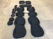 Factory Oem Original Replacement Black Seat Covers Cloth 2020 Ford Explorer Xlt