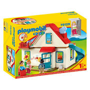Playmobil 1-2-3 Family Home Building Set 70129 New Learning Toys