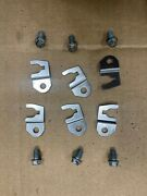 X6 Pn 16451-zy6-000 Set Of Honda Outboard Fuel Injector Clips And Bolts