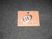 Classic A And W Root Beer Vending Machine Label Refrigerator Magnet