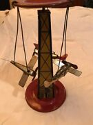 Vintage Tin The Air-e Go Round By Reeves 1926