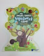 New The Sneaky Snacky Squirrel Game Ages 3+
