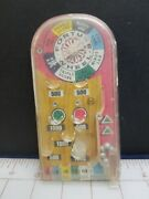 Vintage Toys, 50's Marx Brand, Tabletop Pinball, Wheel Of Fortune, Portable A11