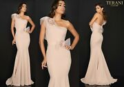 Terani Couture 2011e2092 Authentic Dress. Newest Collection Free Ups/fedex