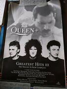 Queen 'greatest Hits Iii' Original Poster, Hard To Find 18x30