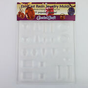 Castin' Craft Easy Cast Jewelry Mold For Epoxy Resin Casting Multi Shapes New