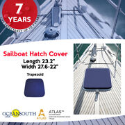 Oceansouth Sailboat Hatch Cover -trapezoid- Length 23.2 / Width 27.6 - 22