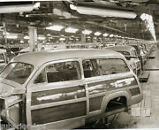 1950 Ford Motor Co. Woody Wagon Assembly Line Vintage Woody Kingsford Mi Great