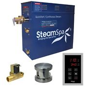 Steam Spa Oat450bn-a Oasis 4.5 Kw Quick Start Acu-steam Bath Generator Packag...
