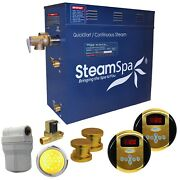 Royal 10.5 Kw Quickstart Steam Bath Generator Package With Built-in Auto Drai...