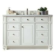 48 In. Single Sink Vanity In Cottage White