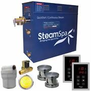 Royal 12 Kw Quickstart Steam Bath Generator Package With Built-in Auto Drain ...
