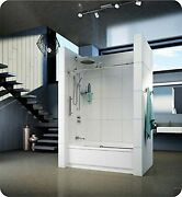 Fleurco Kn059-11-40l-by Kn Kinetik 59 Sliding Tub Door -left And Fixed Panel ...