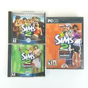 Sims 2 Special Dvd Edition Lot Pc Windows 2004 Open For Business University