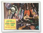 Two Rode Together Original 11x14 Authentic Lobby Card Photo 1961 James Stewart