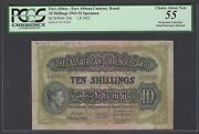East Africa 10 Shillings 1-8-1951 P29bs Specimen About Uncirculated