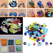 3bag 28g Dichroic Glass Scraps Fusing Glass For Jewelry Pendants Charms Making