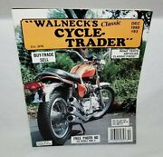 Dec. 1990 Walneckand039s Cycle-trader Classic And Antique Motorcycle Classified Ads