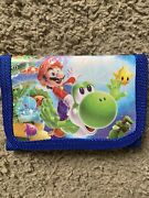 12 Pack Super Mario Bros Wallets For Kids Party Goodie Bags Gifts