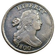 1800 S-211 R-3 Draped Bust Large Cent Coin 1c